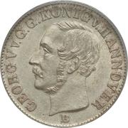 1/12 Thaler - Georg V – obverse