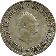 ⅙ Thaler - William IV – obverse