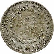 ⅙ Thaler - William IV – reverse