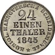 1/24 Thaler - Ernst August – reverse