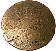2 Pfennig - William IV. – reverse