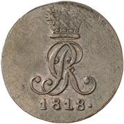 2 Pfennig - George III – obverse