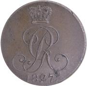4 Pfennig - George IV – obverse