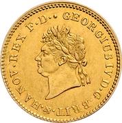 5 Thaler - George IV. – obverse