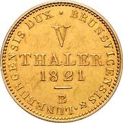 5 Thaler - George IV. – reverse