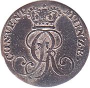 4 Pfennig - George III – obverse