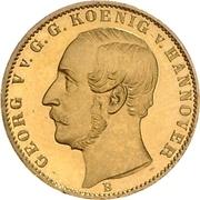 ½ Krone - Georg V – obverse