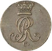 1 Pfenning - George III. – obverse