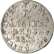 1 Mariengroschen - George III. – reverse