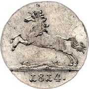 1/24 Thaler - George III – obverse