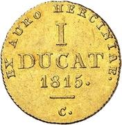 1 Ducat - George III. – reverse