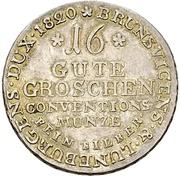 16 Gute Groschen - George IV. – reverse
