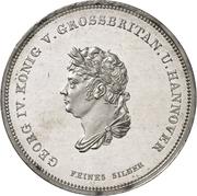 1 Thaler - George IV. (Ausbeutekonventionstaler) – obverse