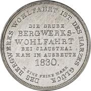 1 Thaler - George IV. (Ausbeutekonventionstaler) – reverse