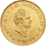 2½ Thaler - William IV. – obverse