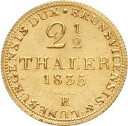2½ Thaler - William IV. – reverse