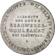 ⅔ Thaler - William IV (2/3 Ausbeutetaler) – obverse