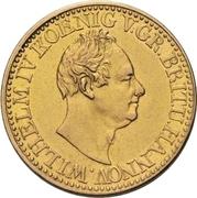 10 Thaler - William IV. – obverse