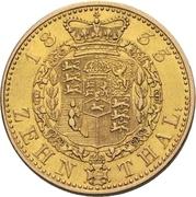 10 Thaler - William IV. – reverse