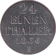 1/24 Thaler - William IV – reverse