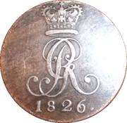 2 Pfennige - George IV – obverse