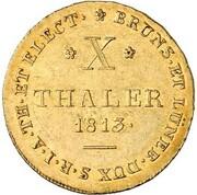 10 Thaler - Georg III. – reverse