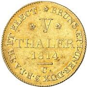 5 Thaler - George III. (Harz - Mining Taler) – reverse