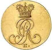 1 Pfenning - Georg III. (Gold Pattern) – obverse