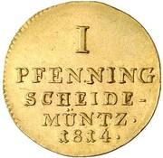 1 Pfenning - Georg III. (Gold Pattern) – reverse