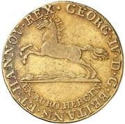 5 Thaler - Georg IV. (Harz Ausbeute) – obverse