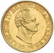 10 Thaler - Wilhelm IV. – obverse