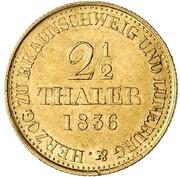 2½ Thaler - Wilhelm IV.