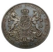 2 Thaler / 3½ Gulden - Georg V – reverse