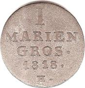 1 Mariengroschen - George III – reverse