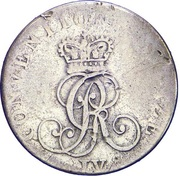 1/24 Thaler - George IV – obverse