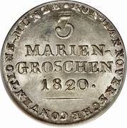 3 Mariengroschen - George III – reverse