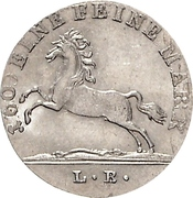 1/12 Thaler - George IV – obverse