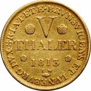 5 Thaler - George III – reverse