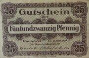 25 Pfennig (Handelskammer) – obverse