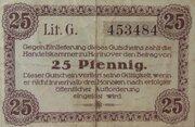 25 Pfennig (Handelskammer) – reverse