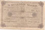 500,000 Mark (provincial joint issue of Handelskammer, Landwirtschaftskammer and Handwerkskammer Hannover) – reverse