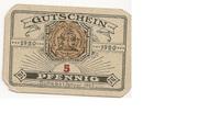 5 Pfennig (Dannenberg; Sparkasse) – obverse