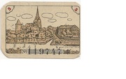 5 Pfennig (Dannenberg; Sparkasse) – reverse