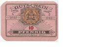 10 Pfennig (Dannenberg; Sparkasse) – obverse