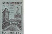 50 Pfennig (Dannenberg; Sparkasse) – reverse