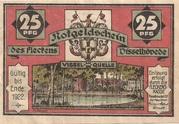 25 Pfennig (Visselhövede) – obverse