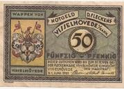 50 Pfennig (Visselhövede) – obverse