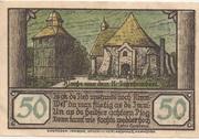 50 Pfennig (Visselhövede) – reverse