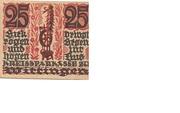25 Pfennig (Wittingen; Kreissparkasse) – obverse