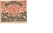 25 Pfennig (Wittingen; Kreissparkasse) – reverse